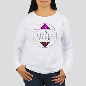 Sigma Kappa Best Littl Women's Long Sleeve T-Shirt