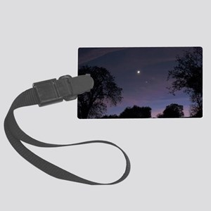 Planetary conjunction Large Luggage Tag