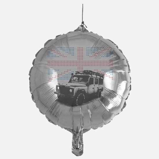 Union Jack Land Rover Defender Balloon