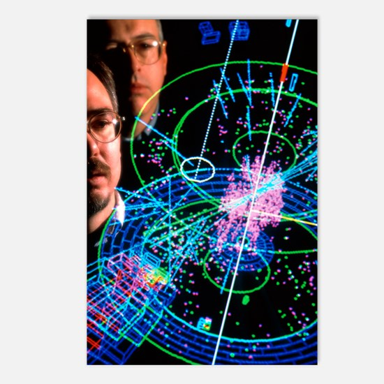 Physicists view a particl Postcards (Package of 8)