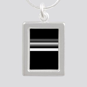 Team Colors2...Black,gray and white Necklaces