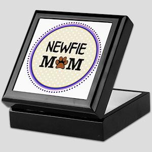 Newfie Dog Mom Keepsake Box