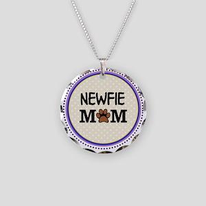 Newfie Dog Mom Necklace