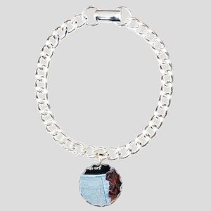 Navigator Foo Charm Bracelet, One Charm