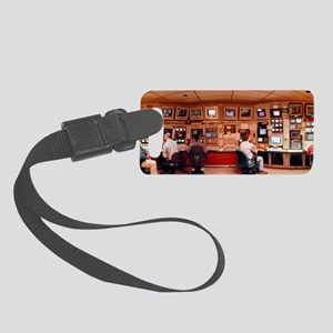 Physicists in SLAC control room Small Luggage Tag