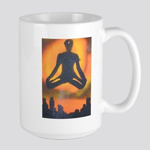 URBAN YOGA Large Mug