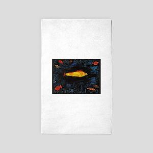 Paul Klee Goldfish Area Rug