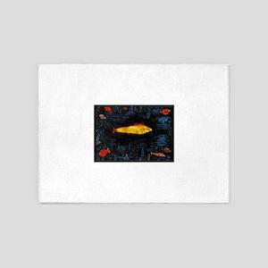 Paul Klee Goldfish 5'x7'Area Rug