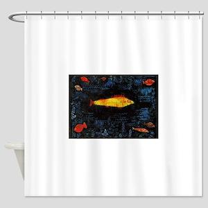 Paul Klee Goldfish Shower Curtain