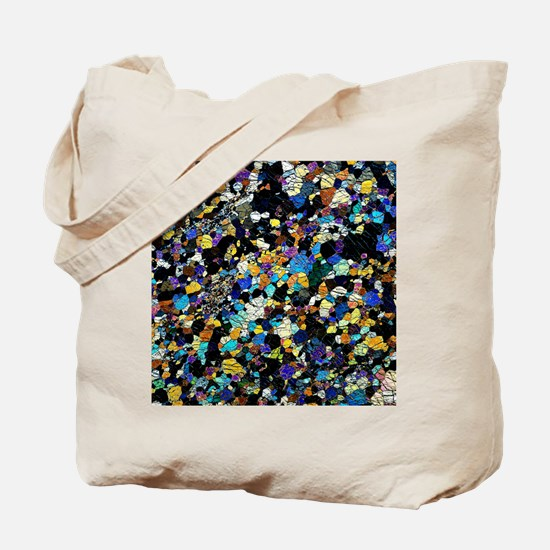 Peridotite rock, light micrograph Tote Bag