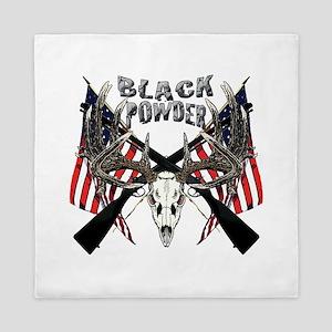 Black Powder buck Queen Duvet