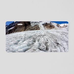 Pasterze Glacier Aluminum License Plate