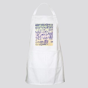 Particle physics equations Apron