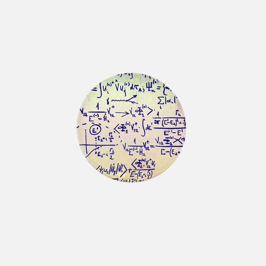 Particle physics equations Mini Button