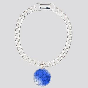 Particle physics equatio Charm Bracelet, One Charm