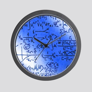 Particle physics equations Wall Clock