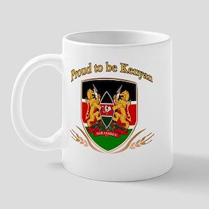 Proud to be Kenyan Mug