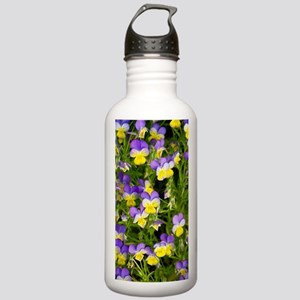 Pansy flowers (Viola x Stainless Water Bottle 1.0L