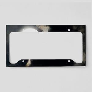 Partial lunar eclipse License Plate Holder
