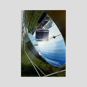 Parabolic solar cooker Rectangle Magnet
