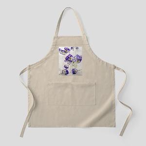 Pansies (Viola sp.) Apron
