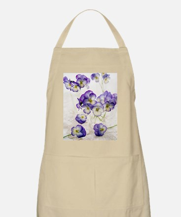 Pansies (Viola sp.) Apron
