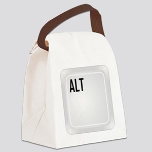 CTRL ALT DEL a1 Canvas Lunch Bag
