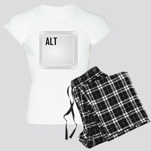CTRL ALT DEL a1 Women's Light Pajamas