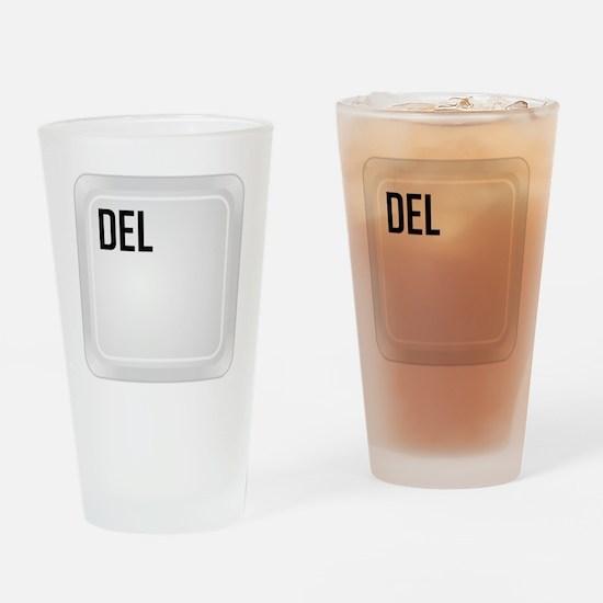 CTRL ALT DEL d1 Drinking Glass