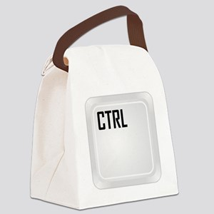 CTRL ALT DEL c1 Canvas Lunch Bag