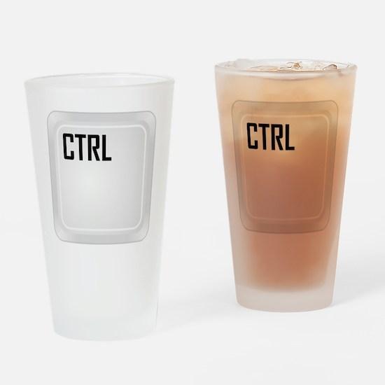 CTRL ALT DEL c1 Drinking Glass