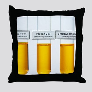 Oxidations of alcohols Throw Pillow