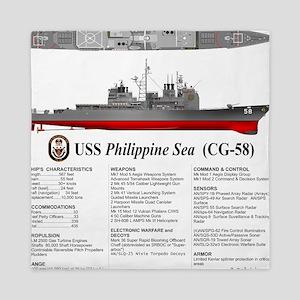 USS Philippine Sea CG-58 Queen Duvet
