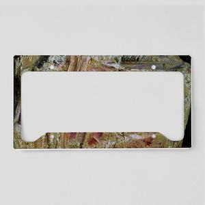 Orpiment crystals License Plate Holder