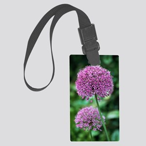 Ornamental onion (Allium aflatun Large Luggage Tag