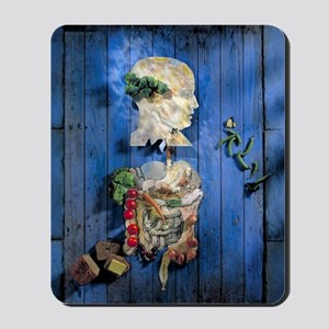 Organic food, conceptual image Mousepad