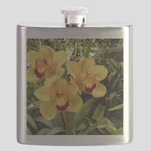 Orchids Flask