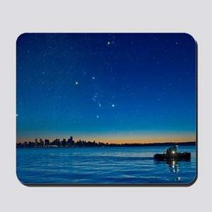 Orion over Vancouver, Canada Mousepad