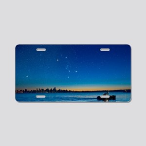 Orion over Vancouver, Canad Aluminum License Plate