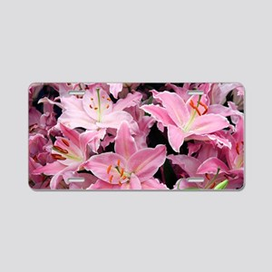 Oriental lily (Lilium 'Just Aluminum License Plate
