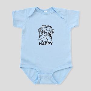 Happy Bulldog Body Suit
