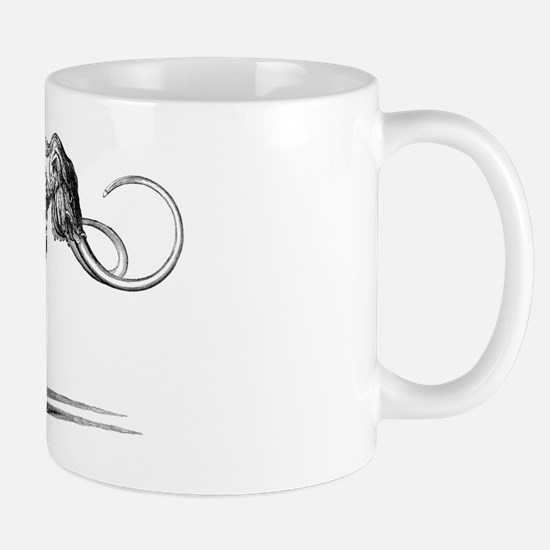 Oncoul Mammoth, 19th century artwork Mug
