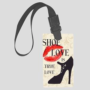 Shoe Love 2 Large Luggage Tag