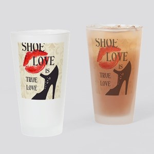 Shoe Love 2 Drinking Glass