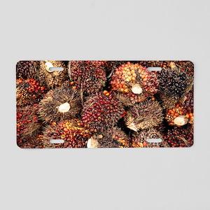 Oil palm fruits Aluminum License Plate