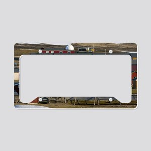 Ny-Alesund research station License Plate Holder