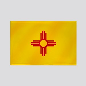 New Mexico Flag Rectangle Magnet