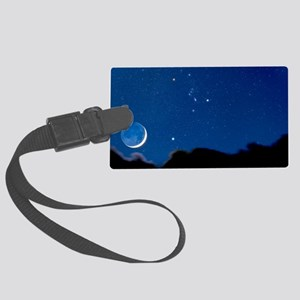 Night sky Large Luggage Tag