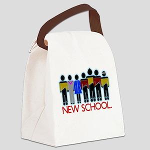 New School TNG Canvas Lunch Bag