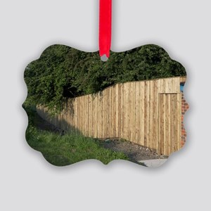 Noise-reducing fence Picture Ornament